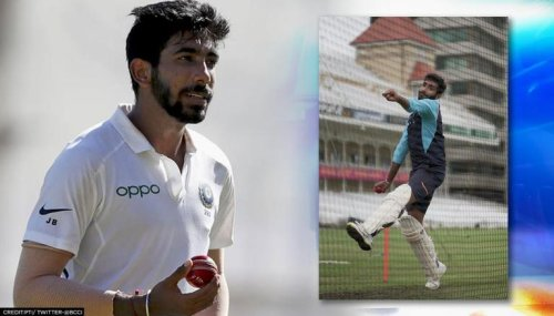 Jasprit Bumrah comes up with unique preparation; bowls wearing batting pads in net session