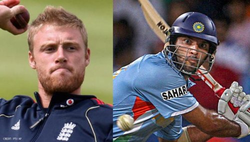 Yuvraj Singh recalls spat with Andrew Flintoff that provoked him to hit 6 sixes in 6 balls