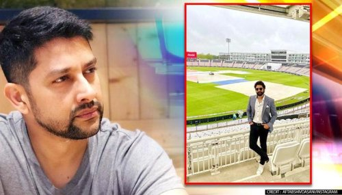 Aftab Shivdasani in Southampton to support India in WTC finals, shares pic from stadium