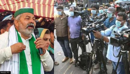 'Support us, or else': Rakesh Tikait warns media as the next target of farmers' anger