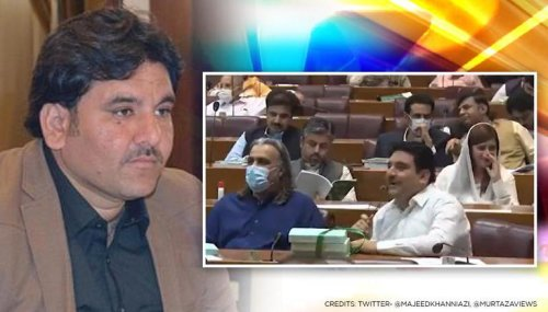 Pakistan: PTI MP seen using obscene language inside the Parliament in shocking video