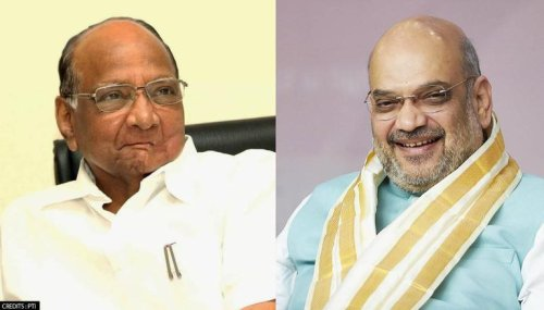 NCP chief Sharad Pawar meets Amit Shah in Delhi, two weeks after meeting PM Modi