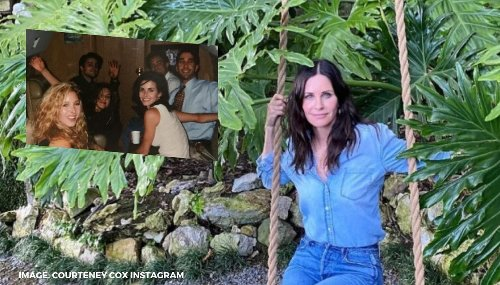 Remember when Courteney Cox shared pic of FRIENDS cast on their way to Vegas?