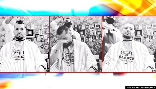 Video: Barber shaves his head to support colleague battling cancer, netizens get emotional