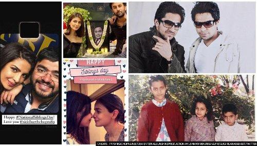 World Sibling Day: Kangana, Priyanka, Anushka, Ayushmann, Riddhima, & others celebrate