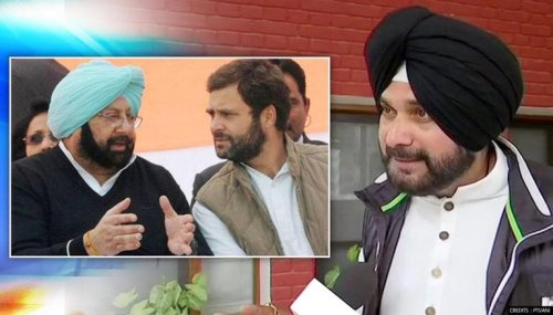 Congress 'unhappy' with Navjot Singh Sidhu; given 'last warning' by top brass: Sources