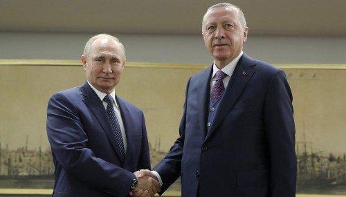 Russia's Putin holds talks with Erdogan, accuses Ukraine of 'dangerous provocations'