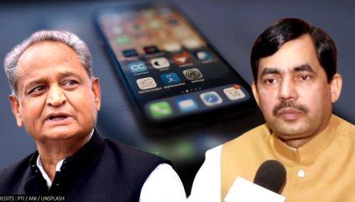 'Now, CM is getting phones tapped openly': BJP's Shahnawaz Hussain slams Ashok Gehlot