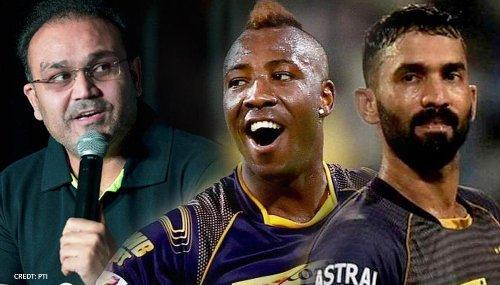 IPL 2021: Virender Sehwag trolls KKR with WWE's Undertaker meme after collapse against MI