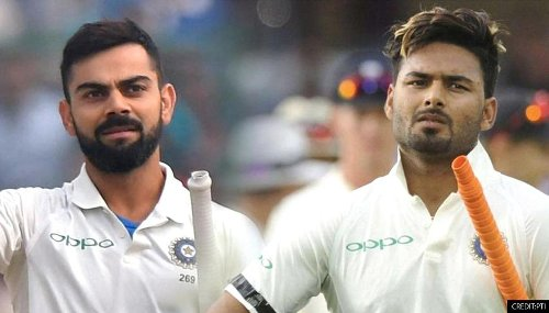 ICC Test rankings: Virat Kohli retains 5th spot, Rishabh Pant creates history