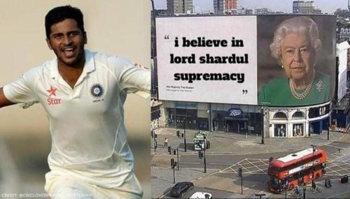 England vs India: Netizens give a shout out to Shardul Thakur for a solid performance