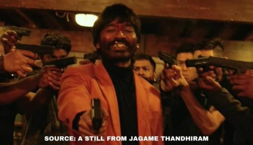 'Jagame Thandhiram' review: The movie's first half makes you want to watch it in a theatre