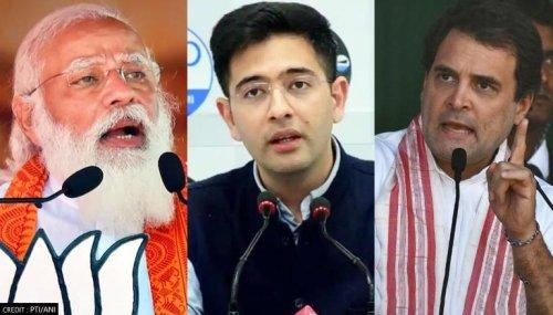 Rahul Gandhi is Narendra Modi's biggest asset; time's up for Congress: AAP's Raghav Chadha