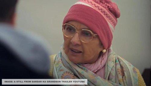 Neena Gupta sheds light on lengthy prosthetic process for her look in 'Sardar Ka Grandson'