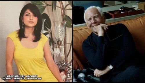 Maheep Kapoor wants show on Armani founder, Giorgio Armani; here's why