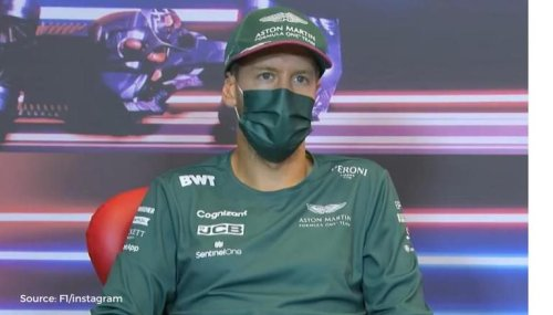 Vettel claims to know F1 drivers who urinate in their car in hilarious revelation