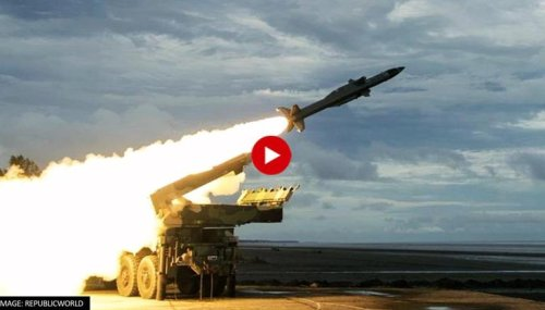 India successfully tests 'Akash Prime' Missile; Watch it intercept & destroy drone target