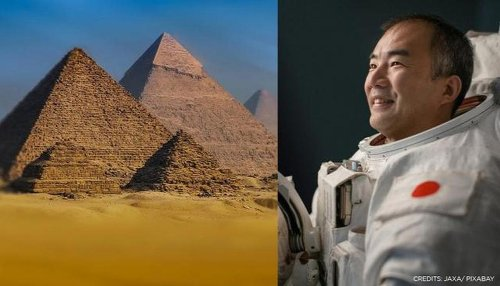 Astronaut Soichi Noguchi shares photo of Pyramids clicked from ISS, see pic