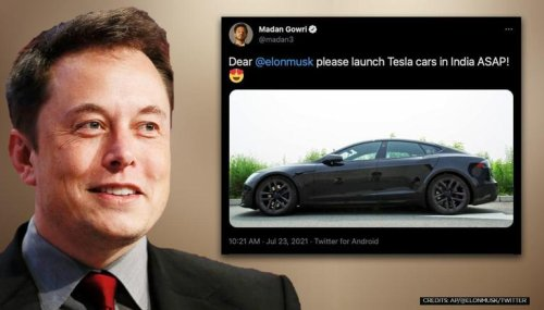 'We want to, but...': Elon Musk reveals what's keeping Tesla from launching in India
