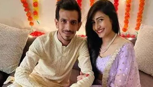 As Yuzvendra Chahal turns 31, wife Dhanashree wishes him saying 'extremely proud of you'
