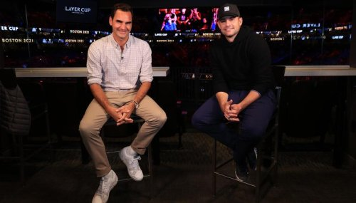 '21 Slams between us' Andy Roddick's hilarious interaction with fans on photo with Federer