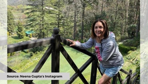Neena Gupta reveals clothes hanging on rope gives her 'feeling of being at home'