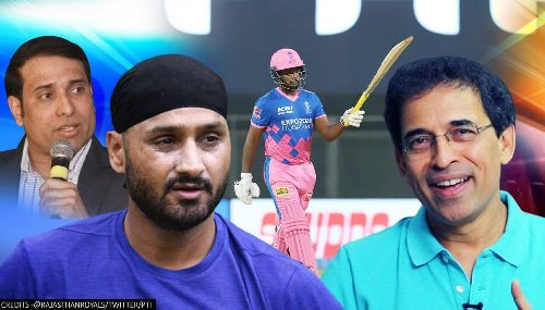 Harsha Bhogle, VVS Laxman & others give special mention to Samson's 'symphonic' ton