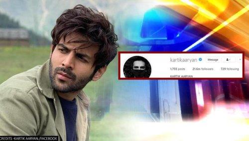 Kartik Aaryan's BTech mention on social media bio amid alleged film exits get fans talking