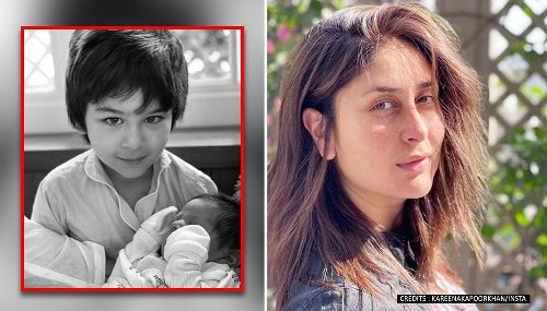 Kareena Kapoor shares glimpse of newborn with Taimur, says, 'These two give me hope'