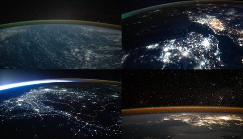 Incredible pictures of Earth's horizon captured by ISS at night go viral; See pics