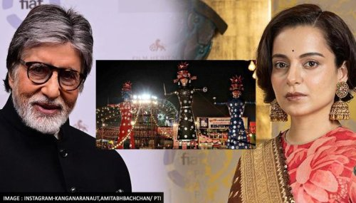 Dussehra 2021: Kangana Ranaut, Amitabh Bachchan & other Bollywood celebs extend wishes