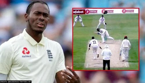 Jofra Archer back in groove after injury, bowls a banana inswinger against Surrey 2nd XI