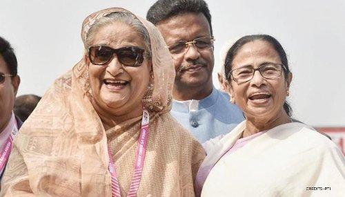 Bangladesh PM Sheikh Hasina wishes Mamata Banerjee on her 'huge victory' in Bengal polls