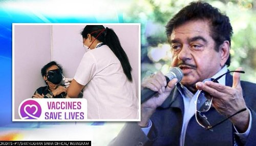 Shatrughan Sinha gets COVID-19 shot, urges govt to make it 'free of cost for all'