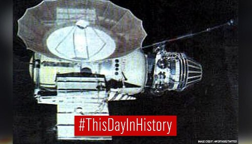 Russian spacecraft Venera 4 made first landing on surface of Venus on this day in 1967