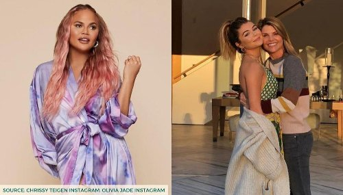 Chrissy Teigen takes a jab at Lori Loughlin in tweet about joining hospitality school