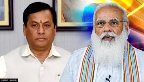 Assam Rajya Sabha by-polls: Sonowal thanks PM Modi for candidacy; promises honest work