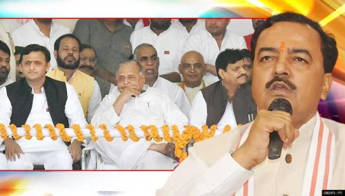 """SP & PSP slam UP Dy CM's promise to 'name roads on Kar sevaks'; ask """"Why after 4 yrs?"""""""
