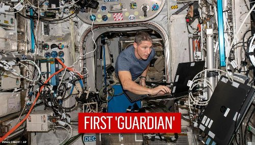 NASA astronaut on International Space Station joins US Space Force as first 'Guardian'
