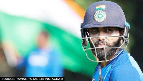 Ravindra Jadeja shows off new look ahead of flight to England, leaves netizens amazed