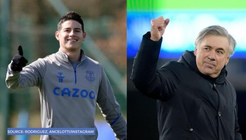 Real Madrid transfer news latest: Ancelotti could bring James Rodriguez back from Everton