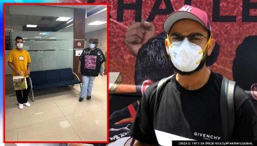Virat Kohli jumps into COVID-19 relief work upon return to Mumbai from postponed IPL 2021