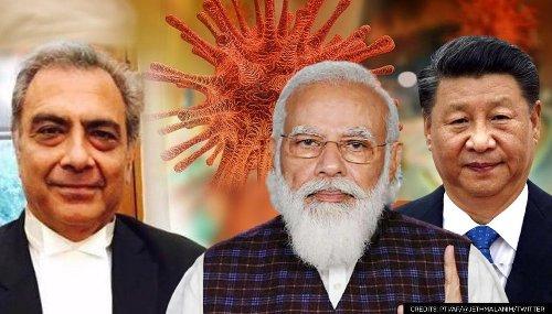 Mahesh Jethmalani advises PM Modi on what he should do before taking on China over COVID
