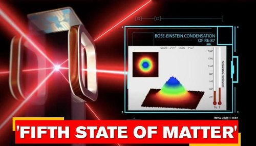 NASA creates fifth state of matter aboard the International Space Station