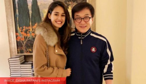 Times Disha Patani shares her fangirl moments with her 'Tagu' Jackie Chan