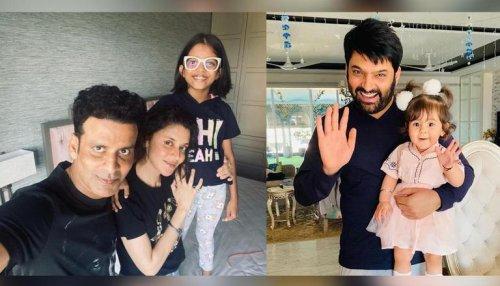 Daughter's Day: Kapil Sharma showers love on Anayra, Manoj Bajpayee pens wish for Ava