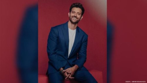 Hrithik Roshan turns Disney Pixar character in his latest post; says 'Bit too much makeup'