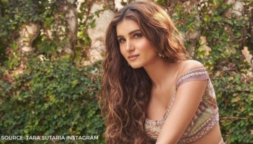 Tara Sutaria shares BTS video with Dabboo Ratnani as they get goofy after calendar shoot