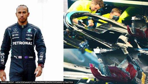 Explained: Lewis Hamilton's car damaged after Italian GP crash with Max Verstappen