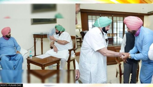Navjot Sidhu meets CM Amarinder Singh; demands 'five priority areas' to be acted upon